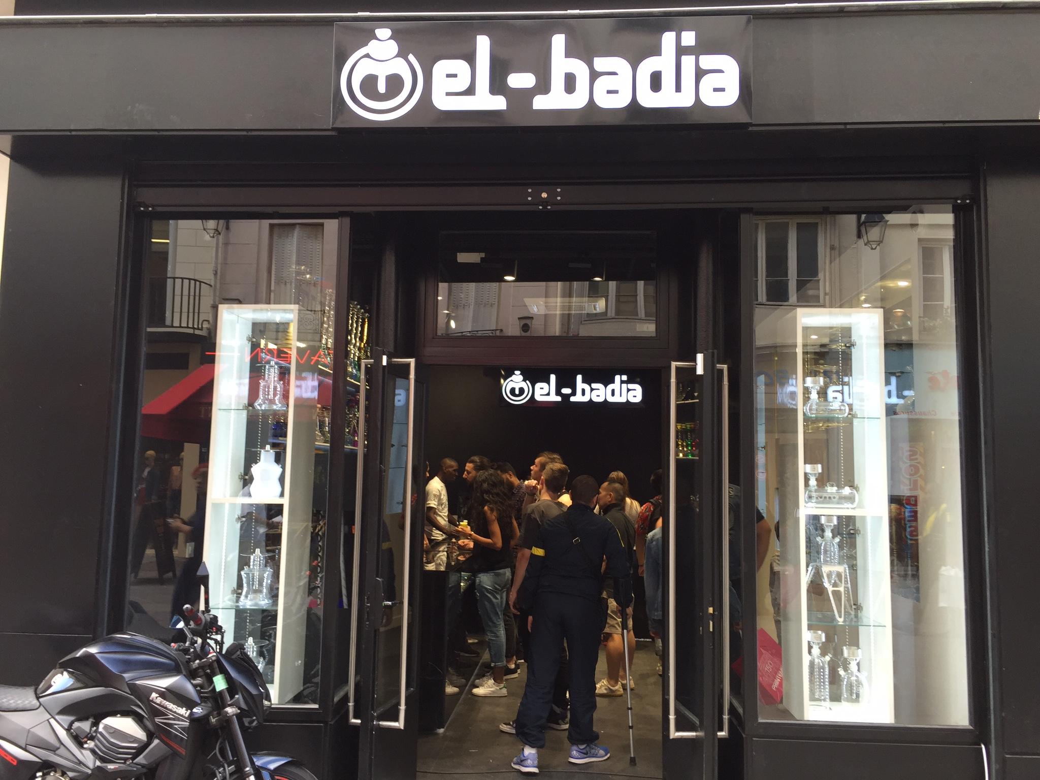 Boutique chicha à Paris El Badia