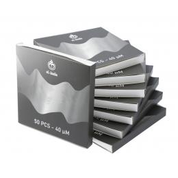 Feuilles D'aluminium Epaisseur Extra X 50 Boite 24