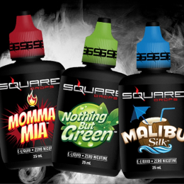E-Liquid SQUARE DROPS 25 ml