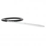 Glas-Mundstück SWORD für Silikonschlauch.