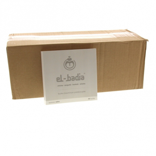 Pre-cut aluminium sheets box of 24