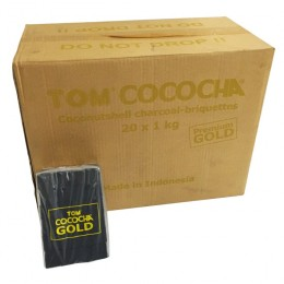 Charbons TOM COCOCHA 20Kg GOLD