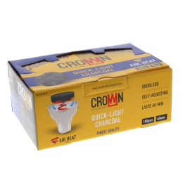 Charbons CARBOPOL CROWN 40mm boite de 100