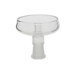 Large glass bowl ELLIPSE one hole