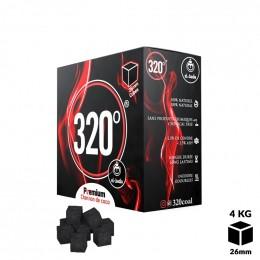 Charbons 320° Cubes 26mm 4kg