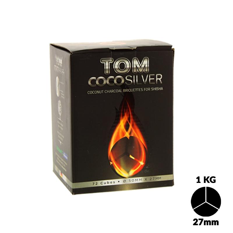 Charbons Tom Cococha Silver 1k 4 Blocks