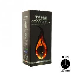 Carbón Tom Cococha Silver 3k 4 Blocks