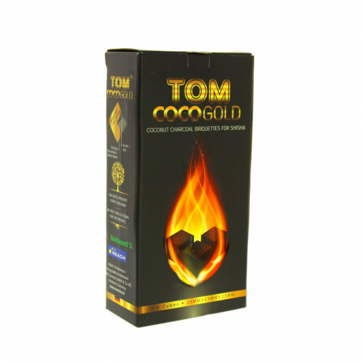 TOM COCOCHA GOLD Natural Charcoal 3Kg