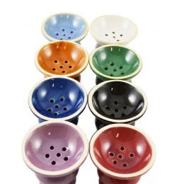 Ampio braciere femmina in ceramica