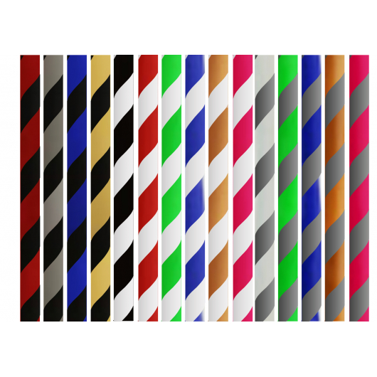 Tuyau Silicone Striped