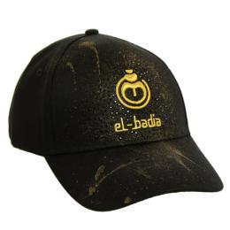 Casquette El-badia Black&gold