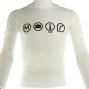 T-shirt Metro-boulot-chicha
