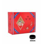 Carbones THREE KINGS 33mm, caja de 100