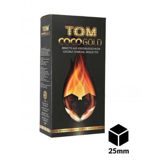 Carbones TOM COCOCHA 3Kg GOLD