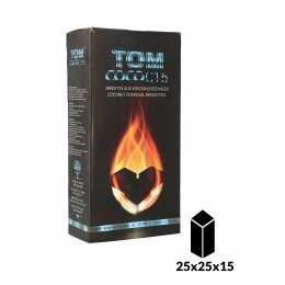 TOM COCOCHA BLUE FLAT Natural Charcoal 3Kg