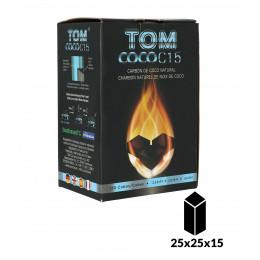 Carbones TOM COCOCHA 1Kg AZUL