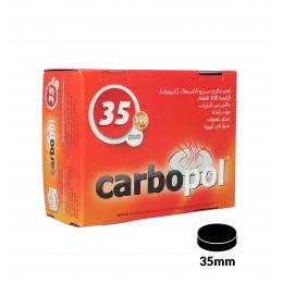 Kohlen CARBOPOL 35 mm, 100er-Box