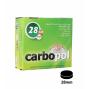 Kohlen CARBOPOL 28 mm, 100er-Box