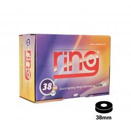 Carbones CARBOPOL RING 38mm caja de 100