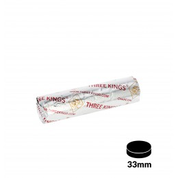 Charbons THREE KINGS 33mm rouleau de 10