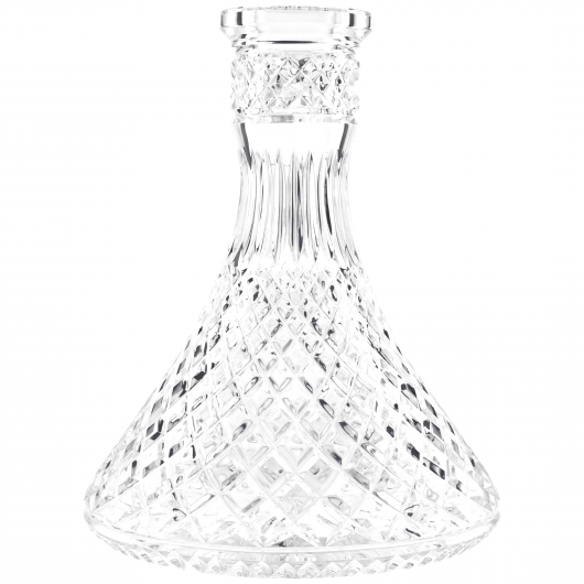 Vase Jeschken Triangle Clear